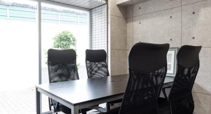 会議室とフリースペース