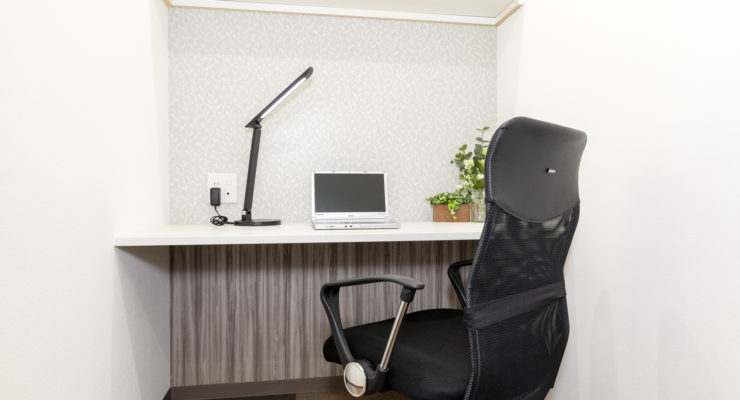 1名用オフィスは月額35,000円~で登記可能