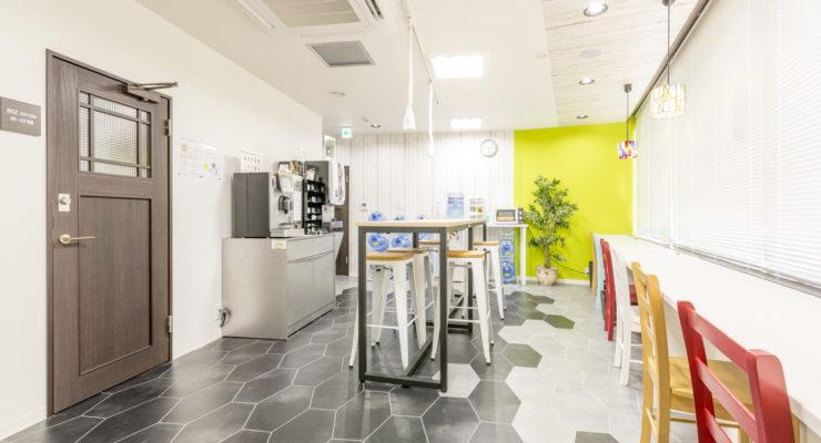 個室とオープンスペースの使い分けでリフレッシュ!