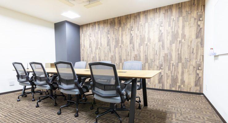 全拠点利用可能な会議室 & 無料で使える応接スペース
