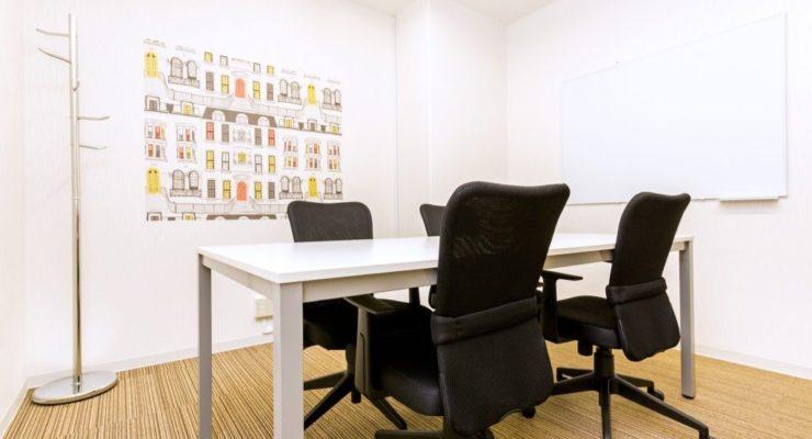 無料の会議室を2ヵ所ご用意、WEB上で楽々予約