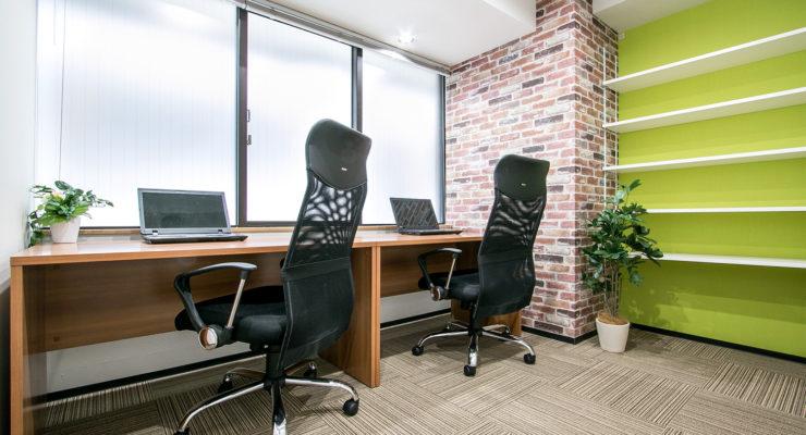 『プライベートが守られた完全個室のレンタルオフィス』