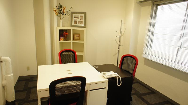 1~6名用の防音完全個室オフィス(24時間利用可)