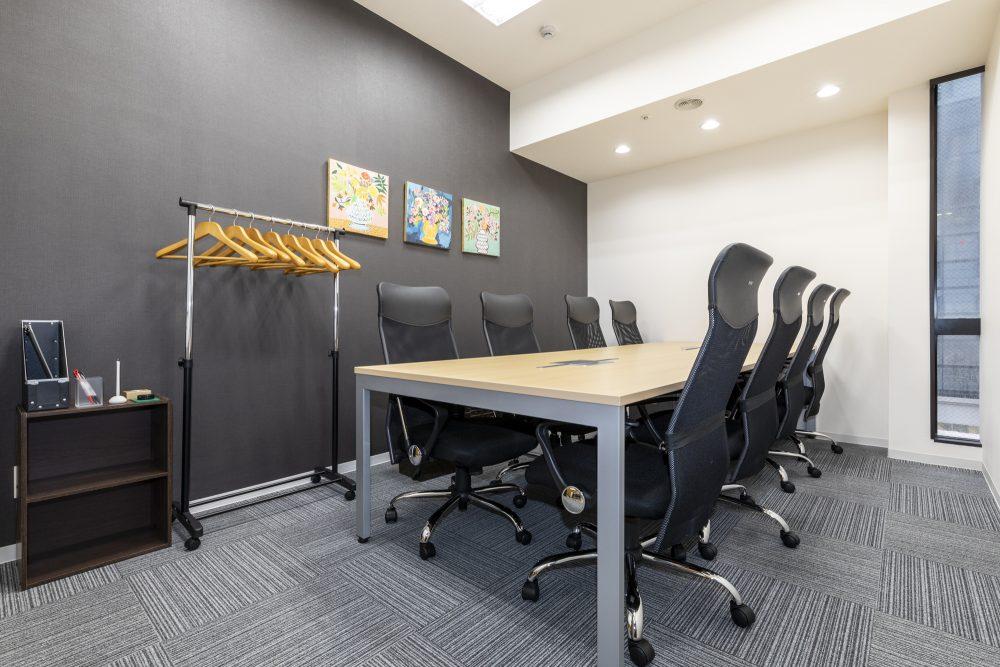 8名用の会議室 ~全国の会議室が利用可能~