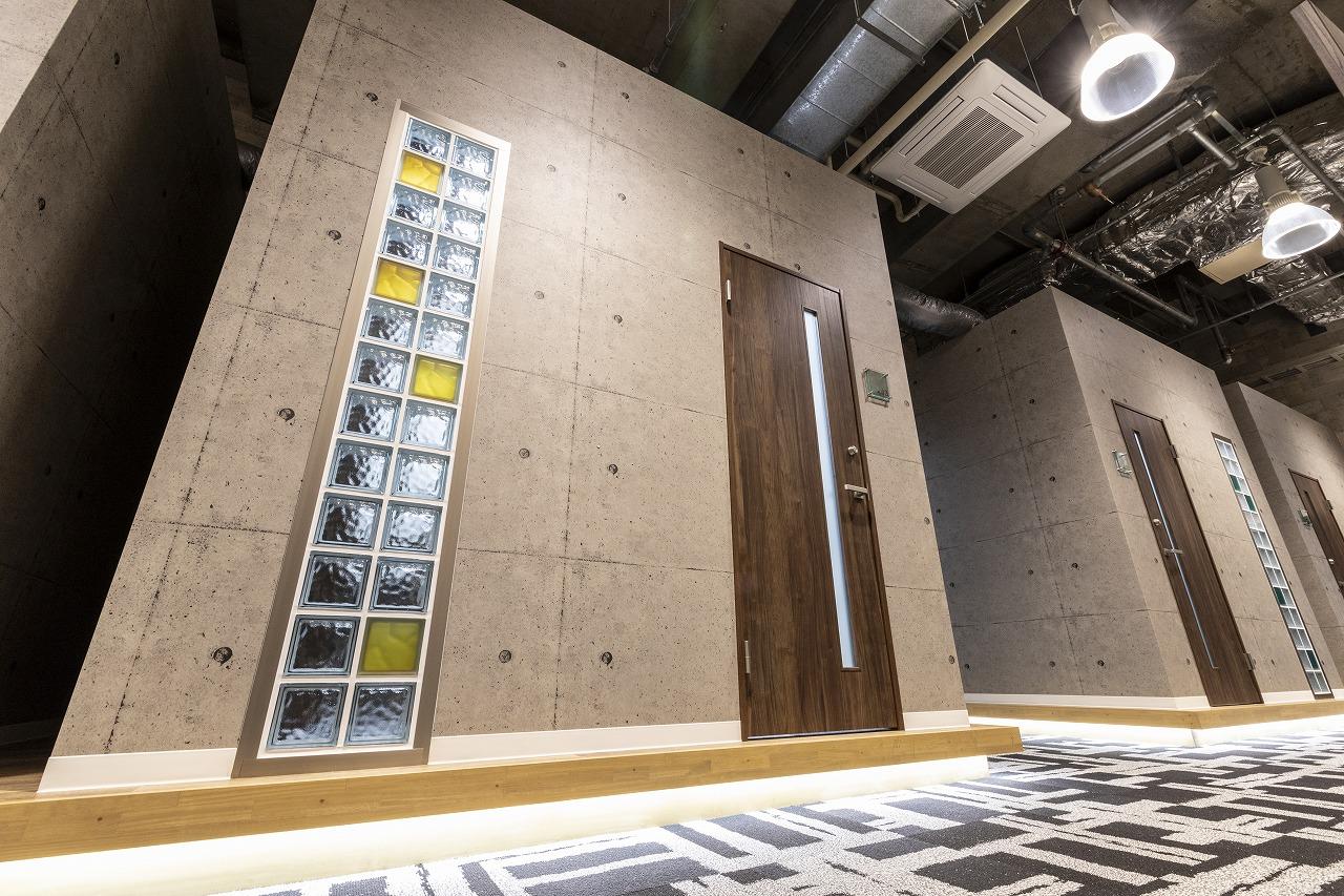 戸建Typeの遮音性が強化された2名用の完全個室オフィス