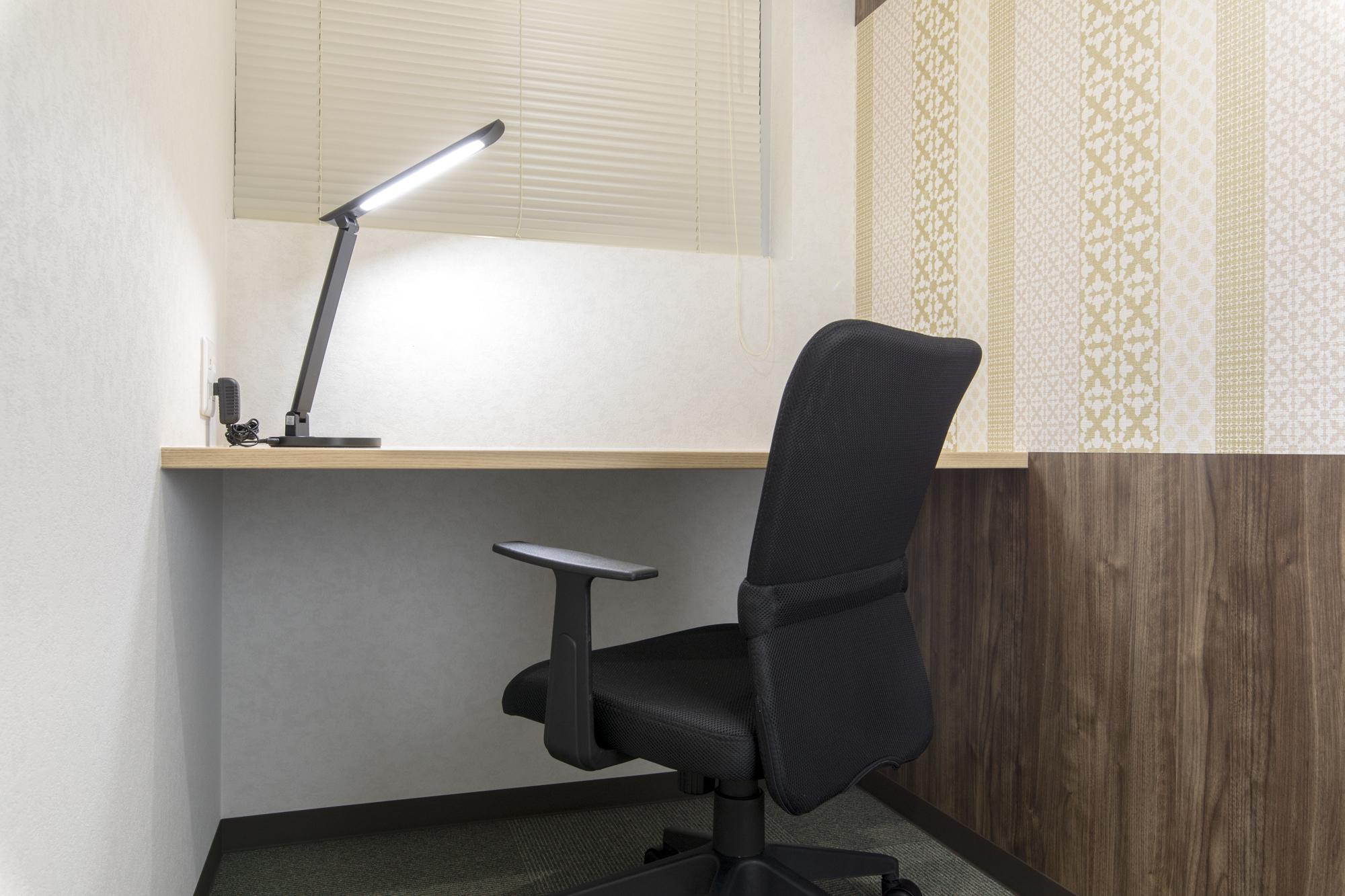 プライベート空間を確保できる個室タイプ