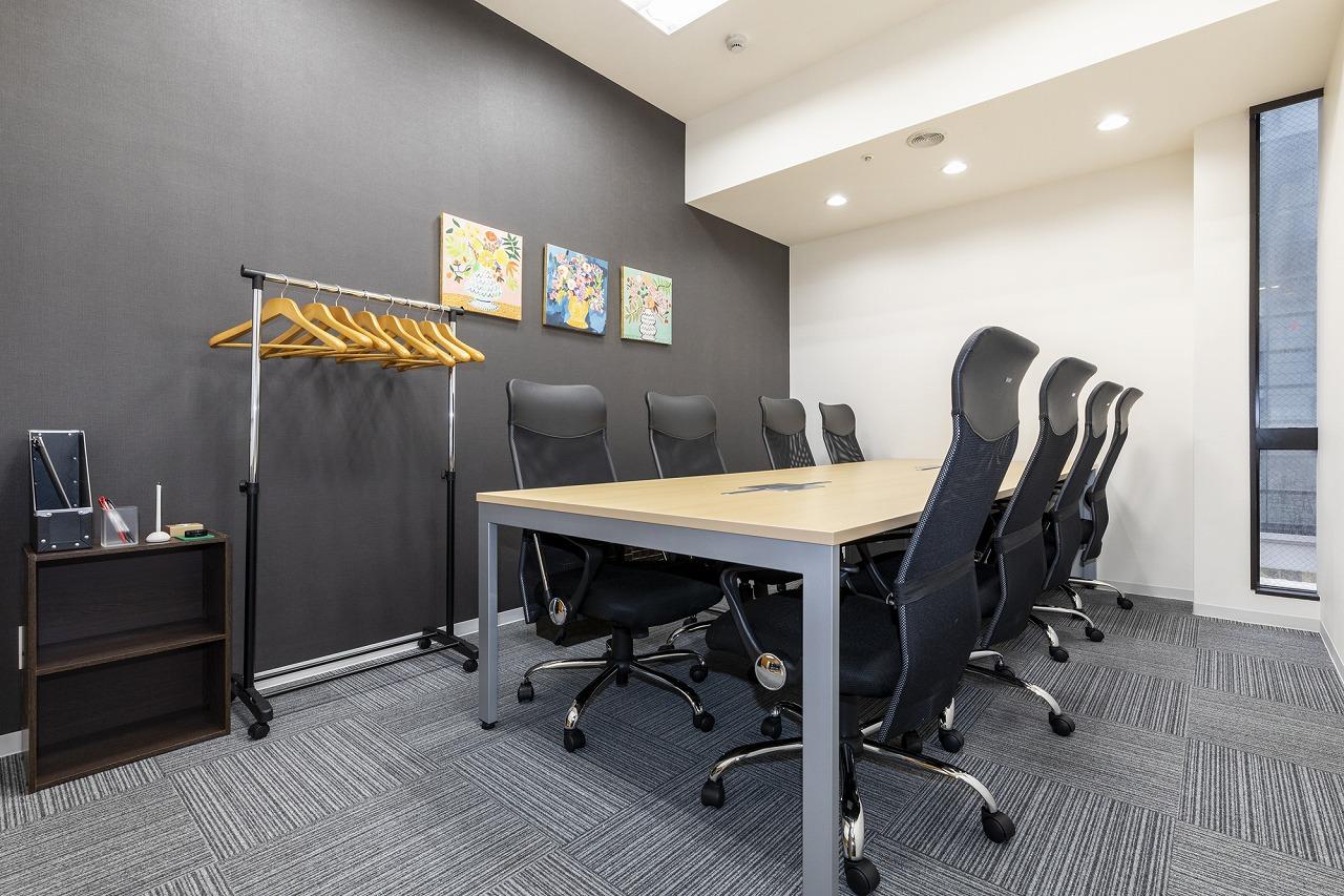 貸会議室あり。さらに全国の会議室も利用可能。