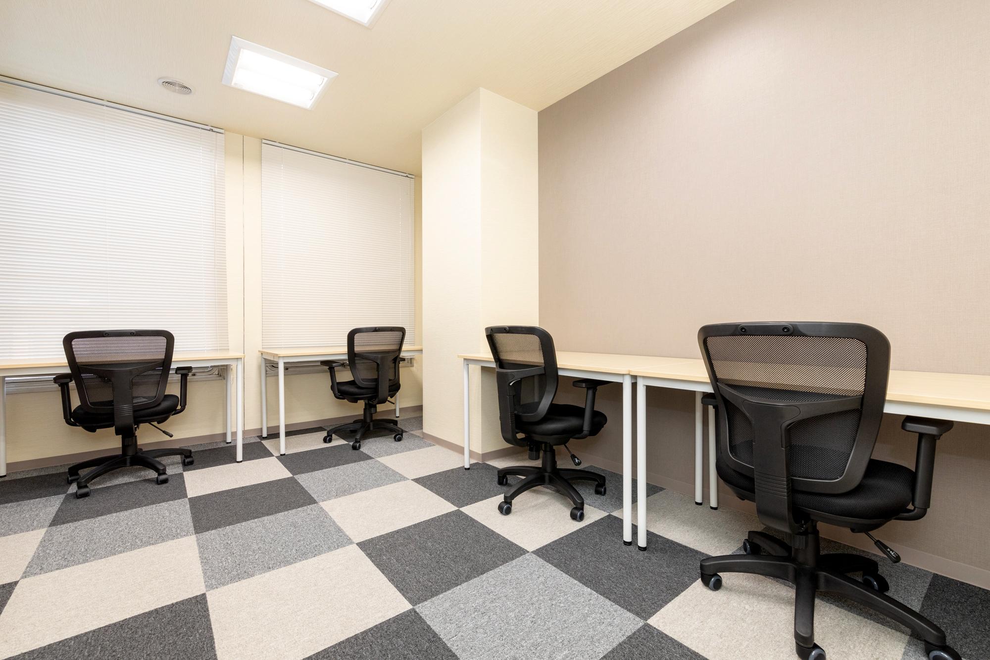 3・4名用完全個室:3名用52,000円~ 4名用70,000円~ 支店・営業所としても好評!