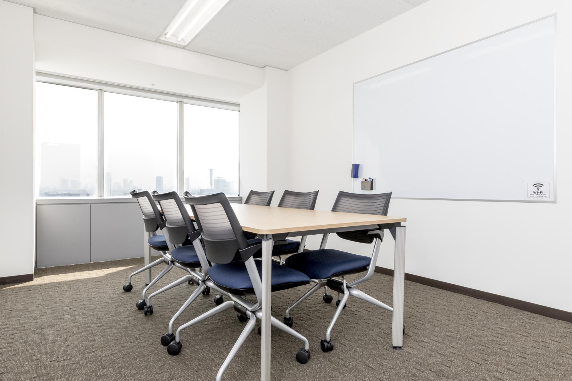 全国60ヵ所にある会議室が利用できます