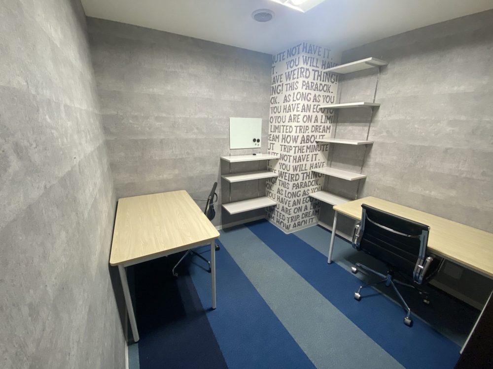完全個室2名用(52,800円~):事務所移転として最適!