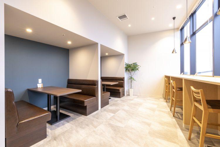 南町田オフィスのカフェブース