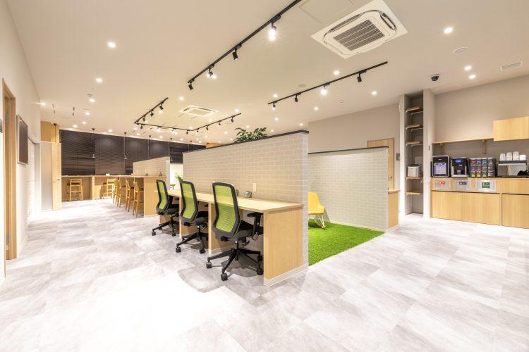 南町田オフィスのワークブース