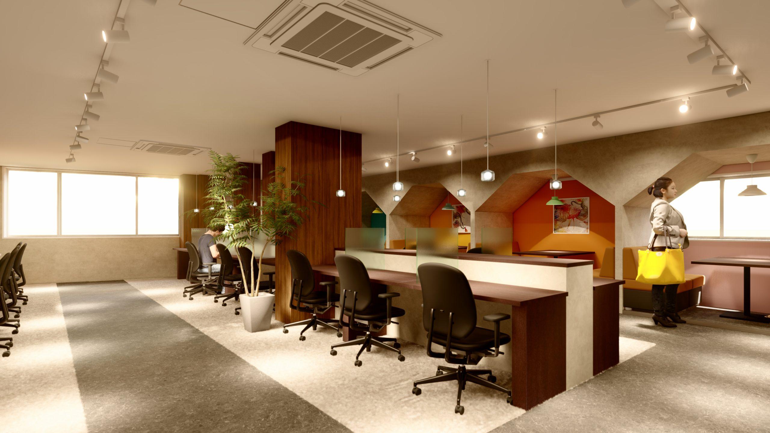 コンシェルジュ付き、24時間利用可能な完全個室のレンタルオフィスOPEN!