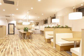 町田オフィスのカフェブース
