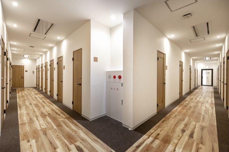 町田オフィスのレンタルオフィスエリア