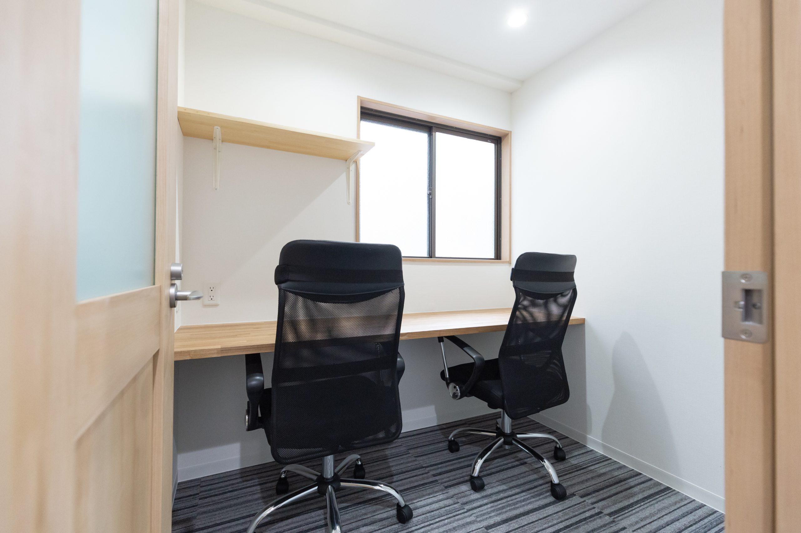 用途で選べる多種多様な個室空間