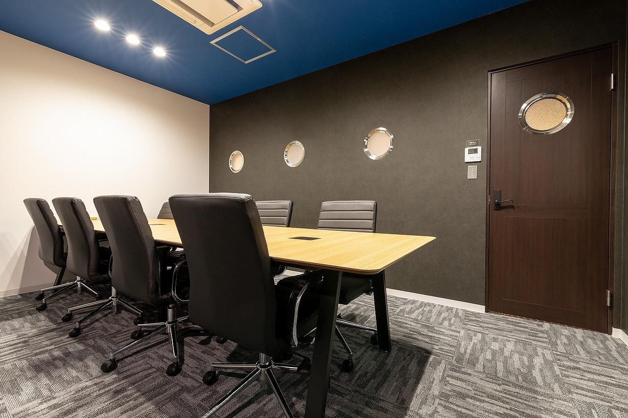 会議室や打ち合わせスペースについて