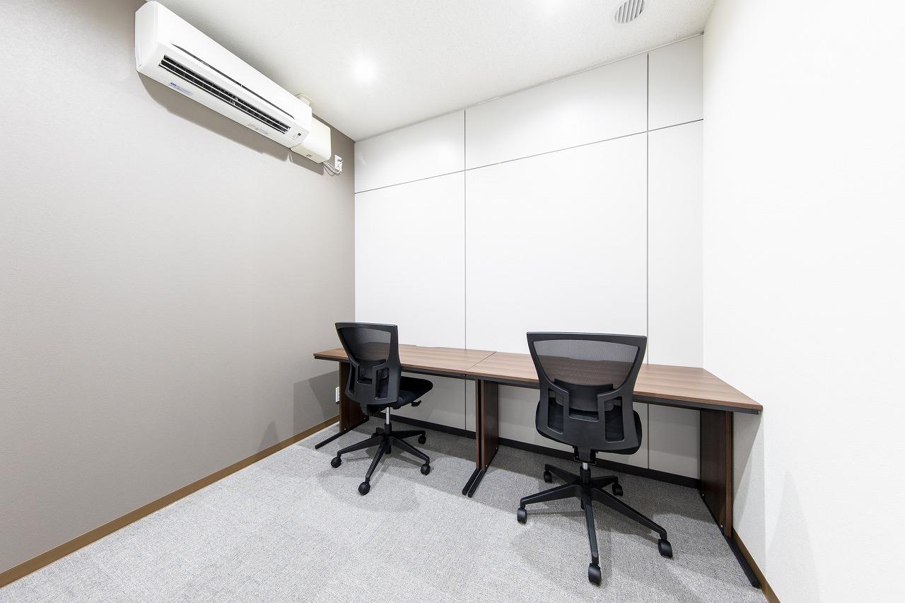 【個室プラン】2名用レンタルオフィス
