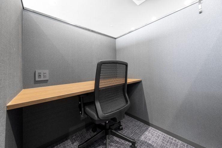 【半個室・固定席】1名用は超集中型の自習室にも!