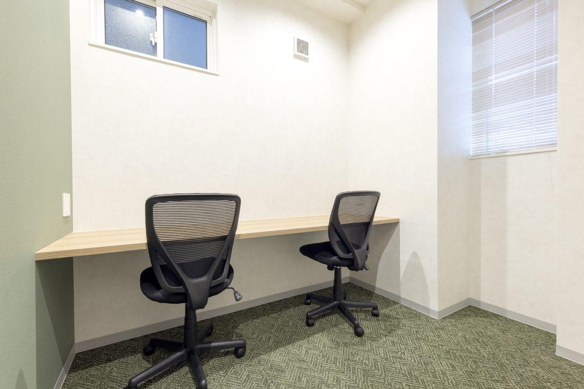 個室レンタルオフィス 2名用