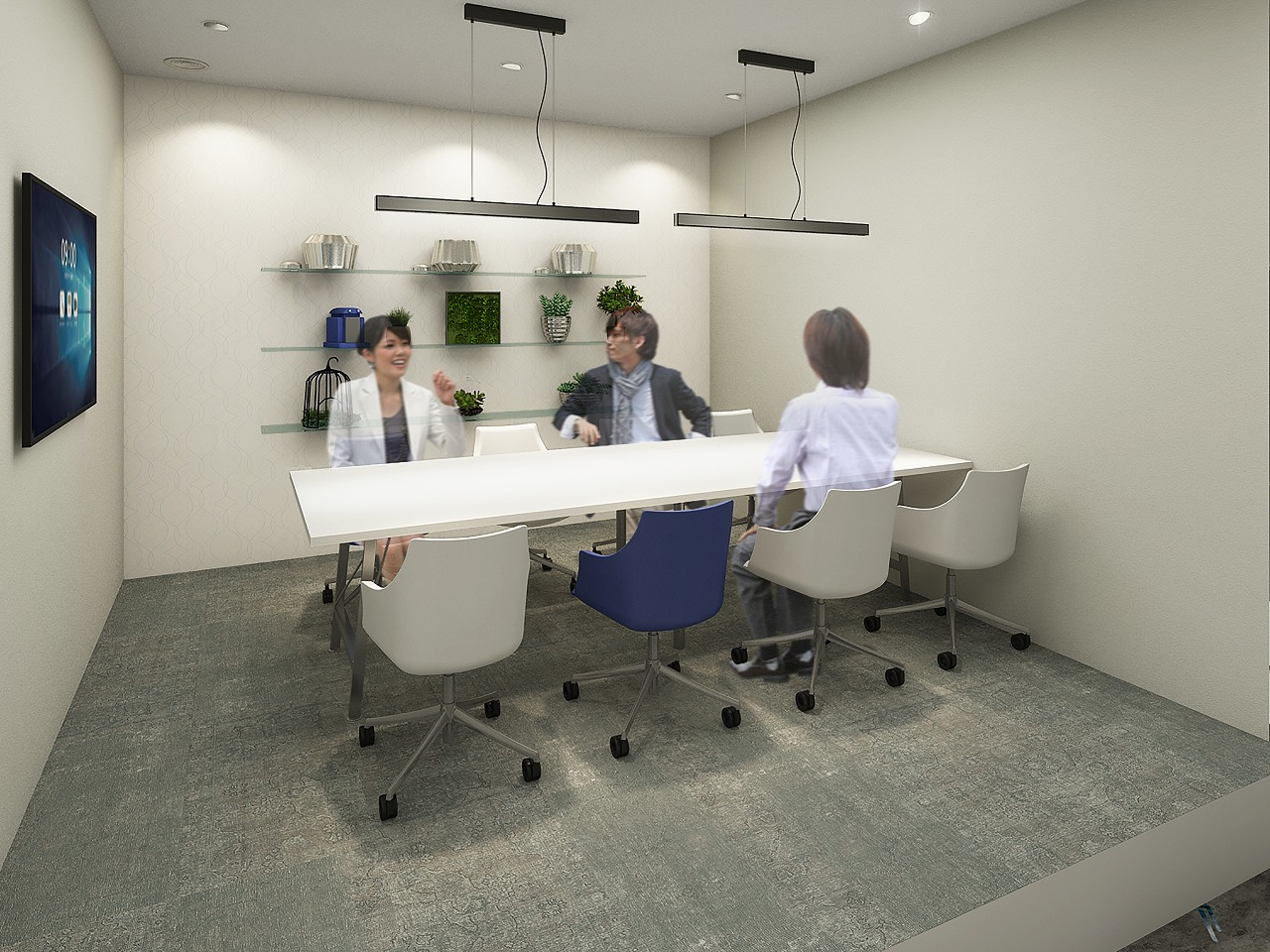 会議室が月5時間まで無料で使える!